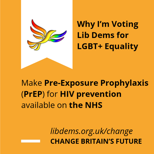 PrEP on the NHS Graphic