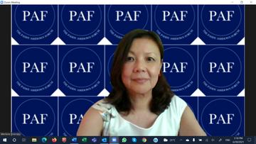 Merlene Emerson PAF background